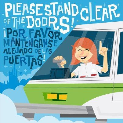 """Please Stand Clear of the Doors""- Walt Disney World Monorail"