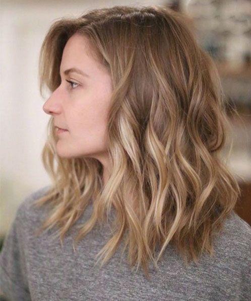 10 Top Shoulder Length Hairstyles Wavy Hair Women Medium