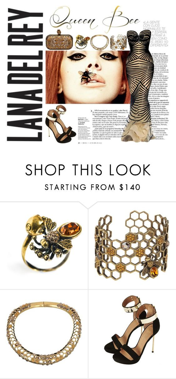 """Queen Bee, LDR"" by monique-nicky-littleford ❤ liked on Polyvore featuring Alexander McQueen, Topshop, women's clothing, women, female, woman, misses and juniors"