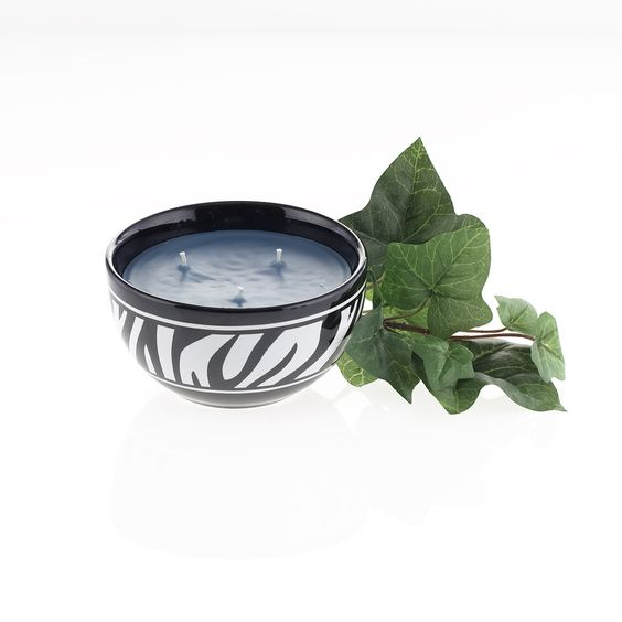 Fabulous tropical fragrance in a stylish Zebra stoneware bowl. Save today!