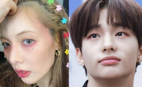 Netizens List Female And Male Celebrities Who Have An Attractive Mole Under The Eye Celebrities Male Celebrities Attractive