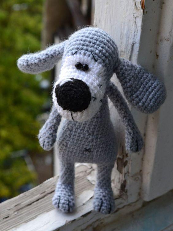 Boofle Knitting Pattern : Boofle dog crochet pattern free amigurumi free pattern crochet Pinterest