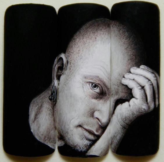 RIP. Tom Holcomb - Nail Art by Pisut Masanong #nail #nails #nailart