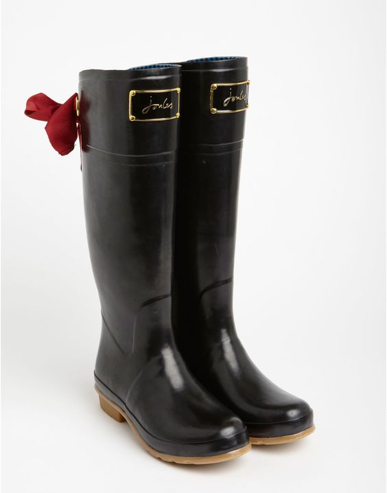 Joules EVEDON Womens Premium Rain Boots.. love. Size 36 I think or
