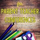 These editable forms are perfect for Parent Teacher conferences.  You will find the following forms: Conference Reminder How does your child feel a...