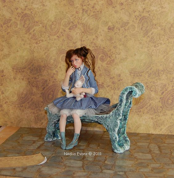 Alice art doll and her bunny | Flickr - Photo Sharing!