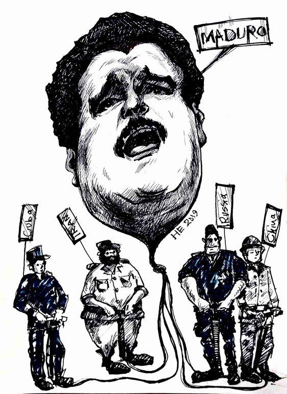 maduro Venezuela Nicolás Maduro cartoon