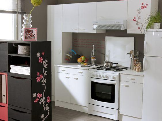 Aménager une petite cuisine ©Leroy merlin