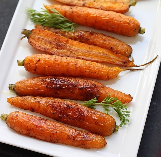 Spice Roasted Carrots
