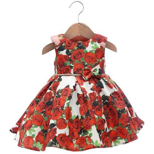 Vestido Julia Vermelho - Beth Bebê