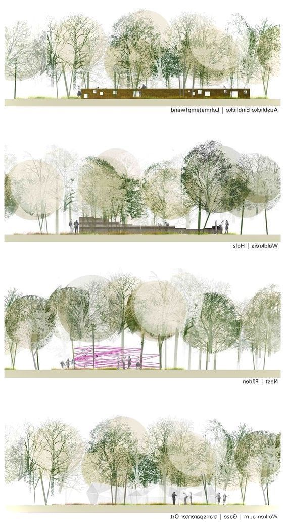 Baum Photoshop Aquarell Baume Baum Texturen Architektur Grafiken