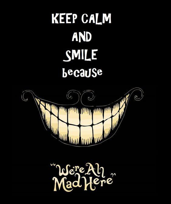 Keep Calm And Smile by RavenSkyler