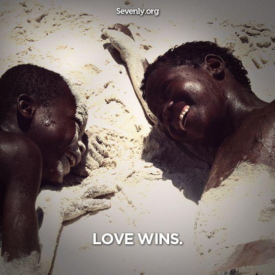TRUE love wins..