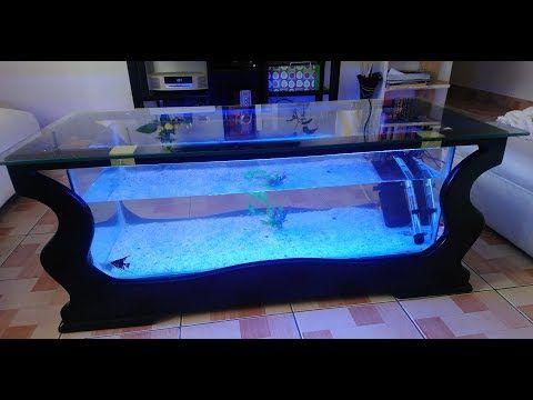 Coffee Table Aquarium Youtube Fish Tank Coffee Table Aquarium Coffee Table Amazing Aquariums Living room table fish tank
