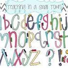 Font- Chevron Letters