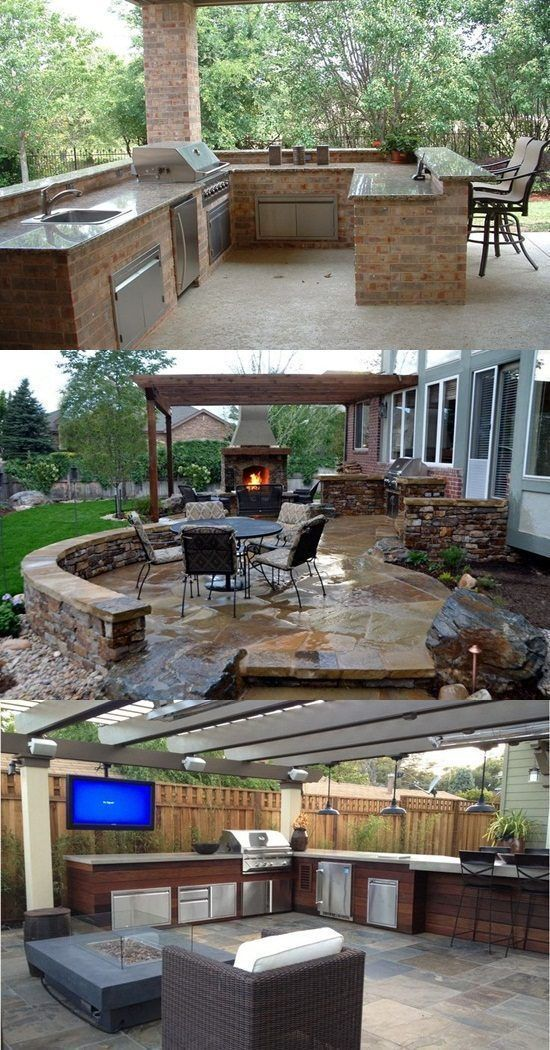 The Secrets Of Home Remodeling And Outdoor Kitchen Design With 41 West Team Outdoor Remodel Backyard Patio Patio