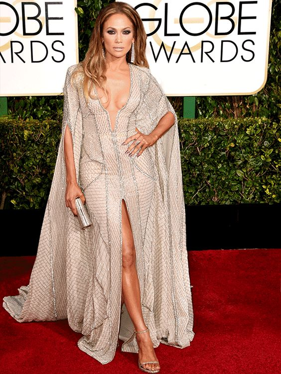 Globo de Ouro 2015 - Jennifer Lopez (Foto: Agência AFP - Getty Agência)