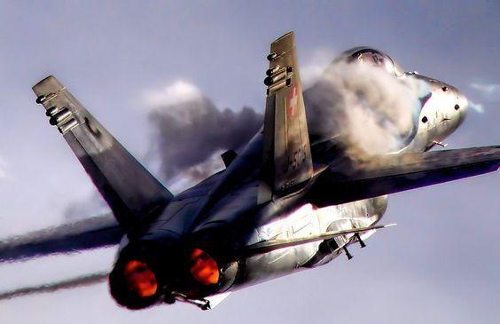 Swiss F18 Hornet. Via: https://www.flickr.com/photos/8620037@N05/15363347502/in/photostream/
