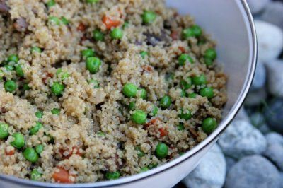 Vegetable Quinoa Salad with Miso Dressing - Daily Garnish