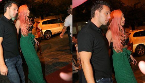 Lady Gaga janta em churrascaria em Ipanema