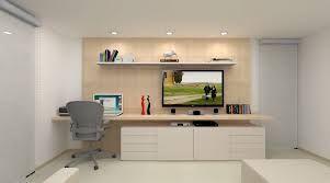 Resultado de imagem para home office quarto painel tv