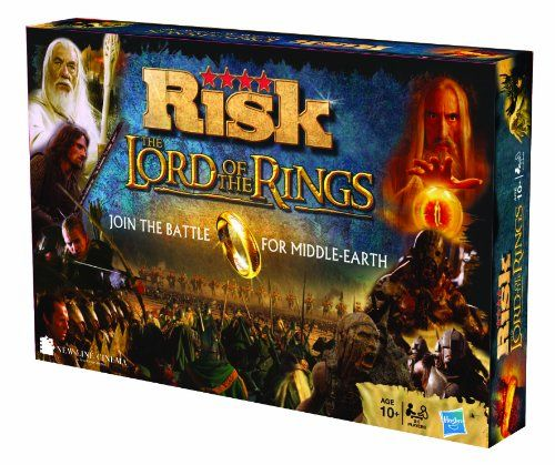 Lord of The Rings Risk Caution: Friends and spouses may become bitter and maintain grudges if one is too good at this game.
