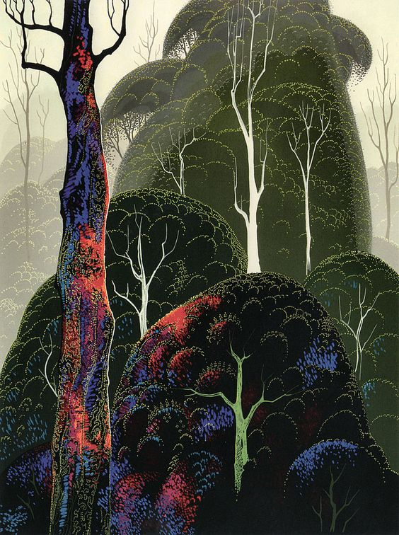 Early Autumn - Eyvind Earle: