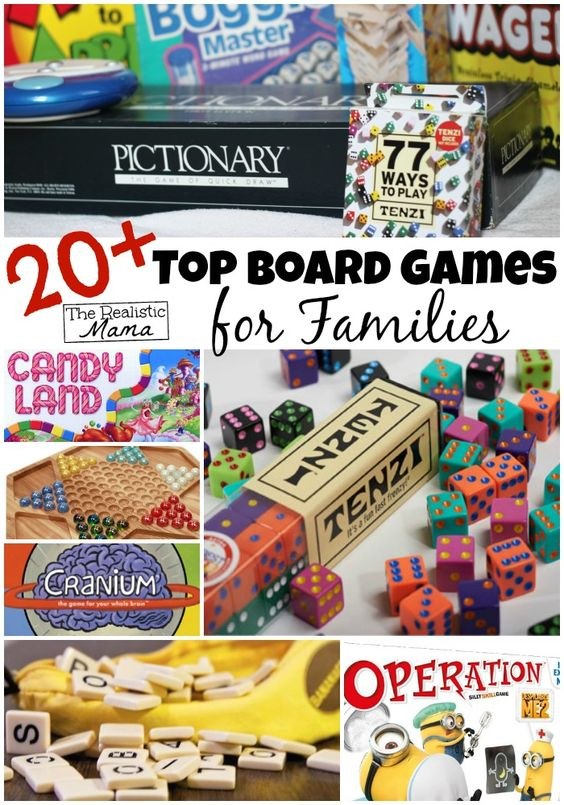 Great Gift Idea!! Top Family Board Games by Age!