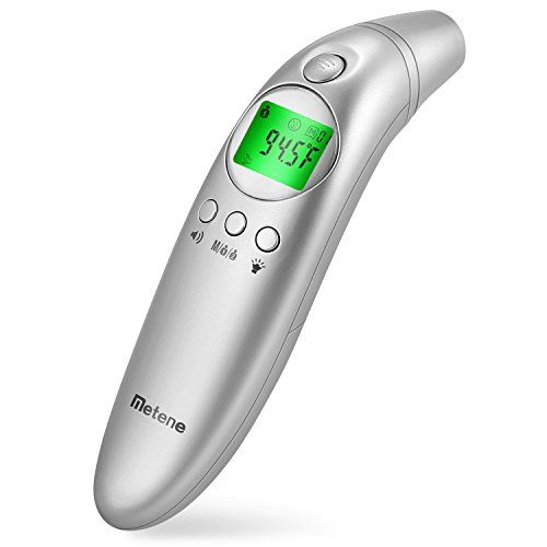 Metene Forehead And Ear Digital Thermometer Non Contact Thermometer With Easy Accuracy How To Take Accu Amazon Deals Shopping Digital Thermometer Thermometer