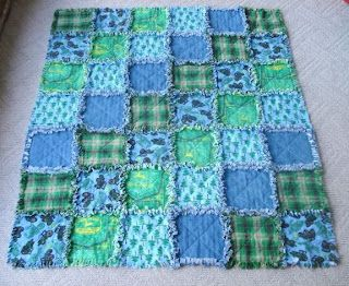 One of these days I'll make one of these...  I think it would be really nice for a little girl's blanket, in particular.
