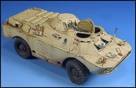 BRDM2 1/35 Scale Model