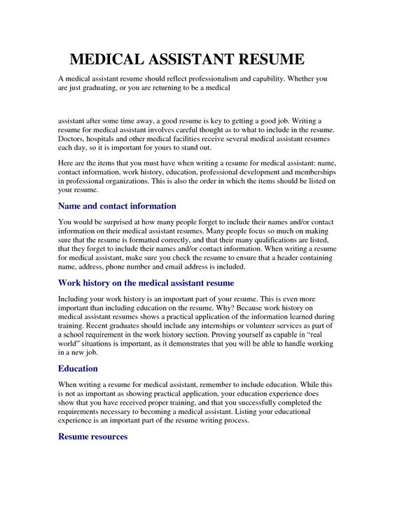 medical assistant resume samples entry level resumesamples Home - resume resources