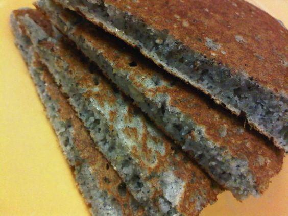Blue Cornmeal Hotcakes