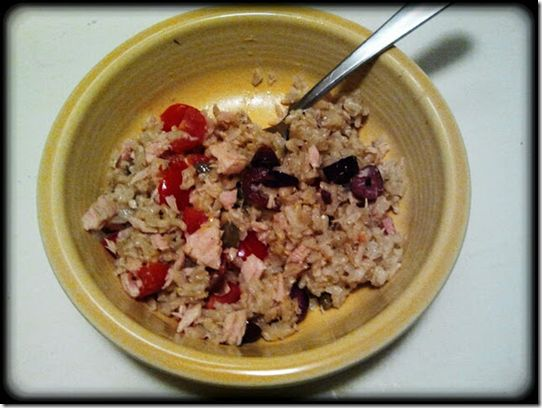 Brown Rice Tuna Salad  I tried this and loved it, then lost the recipe. I'm so happy to have found it again!