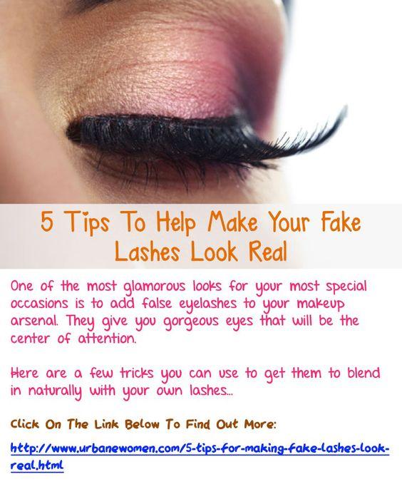 how to take out fake eyelashes