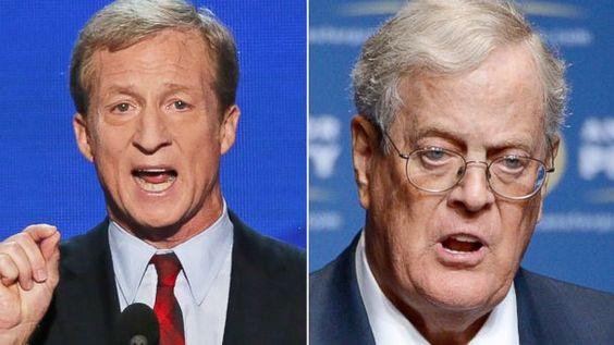 Tom Steyer vs. The Koch Brothers: 2014's Battle of the Billionaires