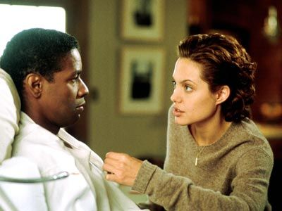 The Bone Collector with Denzel Washington and Angelina Jolie