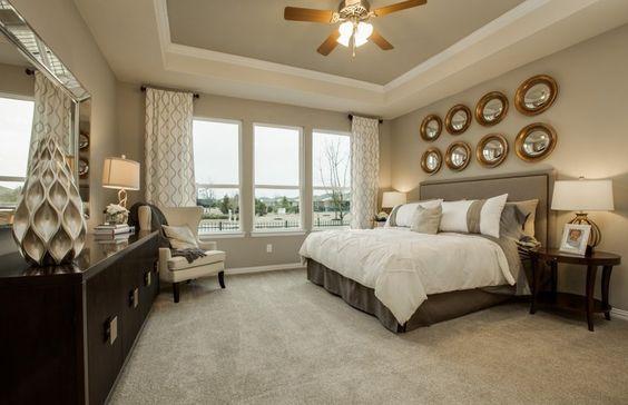 Bedrooms: Design Master Bedroom Suite Cozy Concept, bedroom wall ...