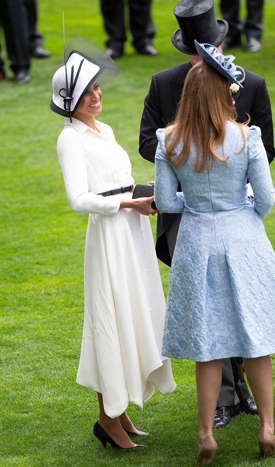 Every Photo You Need to See of Meghan Markle's Perfectly Polished Royal Ascot Debut!