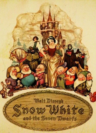 This is the original movie poster for Snow White And The ...