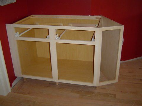 Building cabinets building kitchen cabinets and cabinets for Building kitchen cabinets udo schmidt