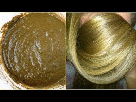 صباغة طبيعية باللون الاشقر الذهبي تغطي الشيب من أول استعمال ومقوية للشعر Hair Care Recipes Hair Styles Hair Beauty