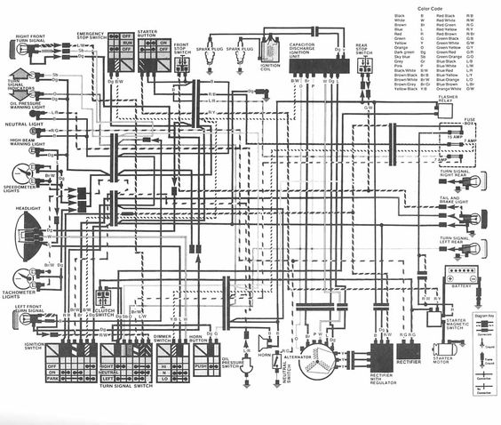 1980 Honda Cm400 Wiring Diagram Automotive Block U2022 Rh Carwiringdiagram Today Wiringdiagram Gl1800: Honda Cm400a Wiring Diagram At Kopipes.co
