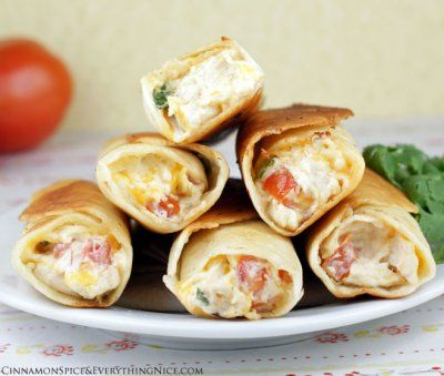 Chubby Chicken and Cream Cheese Taquitos by Cinnamon Spice and ...
