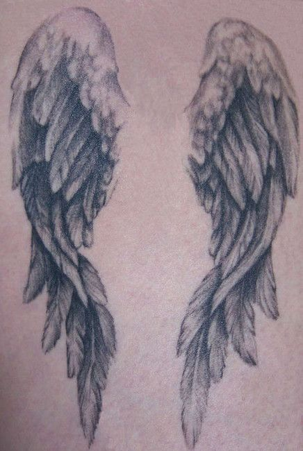 angel wing tattoos on back | Tattoo Back Wings - LiLz.eu - Tattoo DE