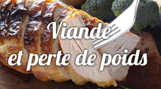 Toute viande apporte la même teneur en protéines (environ 20%), mais elles n'ont pas toutes la même teneur en lipides. Quand on veut perdre du poids, il faut privilégier la viande blanche, moins grasse. Il est aussi conseillé d'alterner la viande avec le poisson, les oeufs ou les protéines végétales. Tous les conseils d' Aurélie Guerri , diététicienne nutritionniste.