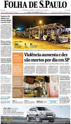 Jornal Folha de São Paulo - Ilustrada