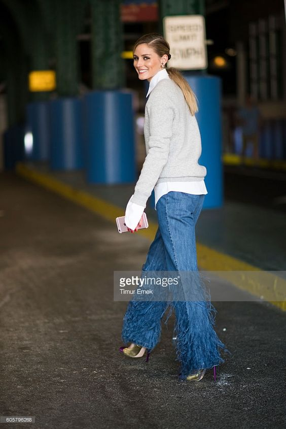 Fotografia de notícias : Olivia Palermo seen in the streets of Manhattan...