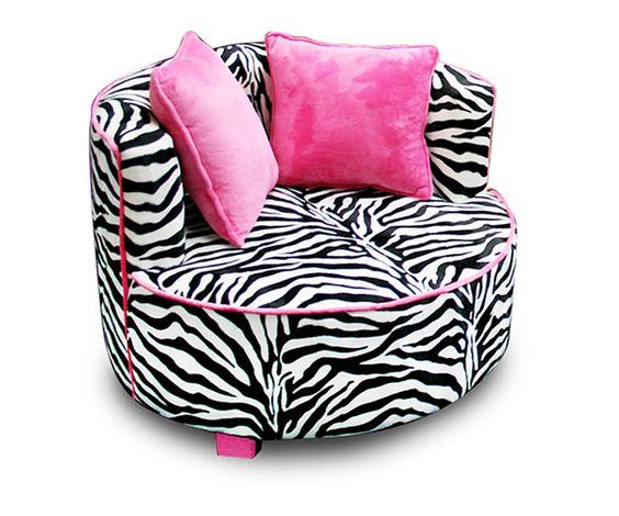 zebra chair | #decor