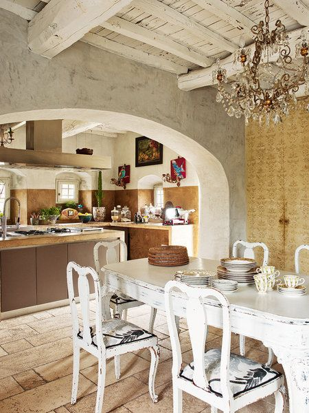 Old Country House With Modern Twist In Tuscany Interior
